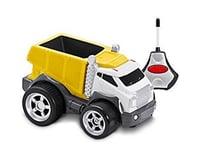 Kid Galaxy R/C Dump Truck Soft Yellow 27MHz