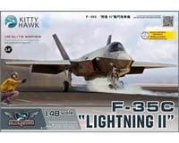 Kitty Hawk Models 1/48 F35C Lightning II Fighter