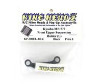 Image 2 for King Headz Kyosho MP777 Front Upper Suspension Holder (L) - Black
