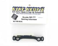 Image 2 for King Headz Kyosho MP777 Steering Ackerman Plate - Black