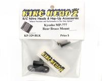 Image 2 for King Headz Kyosho MP777/ST-R - Rear Brace Mount (Black)