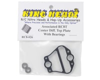 Image 2 for King Headz Associated RC8T Center Differential Top Plate