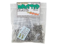 Team KNK Monster Bag Stainless Hardware Kit (700) (Axial RR10 Bomber)