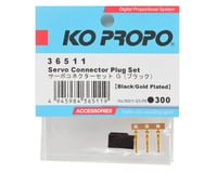 Image 2 for KO Propo Servo Connector Plug Set w/3 Gold Pins