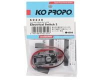 Image 2 for KO Propo Electrical Switch 3 w/Voltage Display & 2S LiPo Cutoff