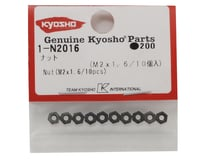 Image 2 for Kyosho 2x1.6mm Steel Nut (10)