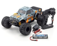 Kyosho Monster Tracker T2 ReadySet 1/10 RTR 2WD Monster Truck (Gray/Orange) | relatedproducts