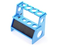 Kyosho Ultima RB6.6 Shock Absorber Holder w/Magnetic Strip (Blue)