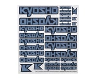 Kyosho Logo Decal (Chrome) | relatedproducts