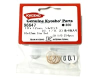 Image 2 for Kyosho 10x12mm Shim Set (0.1mm/0.2mm) (8) (ZX-5)
