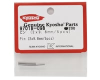Image 2 for Kyosho 2x9.8mm Pin (5)