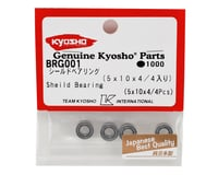 Image 2 for Kyosho 5x10x4mm Metal Shielded Ball Bearings (4)