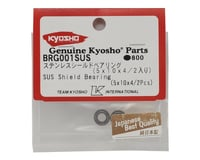 Image 2 for Kyosho 5x10x4mm SUS Stainless Steel Shield Bearing (2)