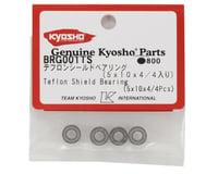 Kyosho 5x10x4mm Teflon Shield Bearing (4)