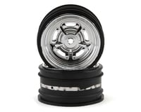 Kyosho Fazer Rostyle Sedan Wheels (2) (Chrome)