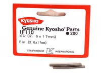 Image 2 for Kyosho 2.6x17mm Wheel Pins (4)
