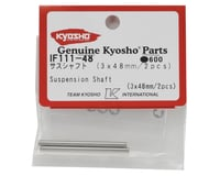 Image 2 for Kyosho 3x48mm Rear Hub Suspension Shaft Set (2)