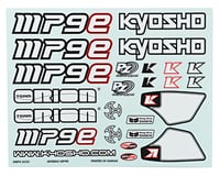 Image 1 for Kyosho MP9e Decal Set