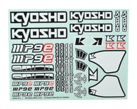 Kyosho MP9 TKI4 Decal Sheet | relatedproducts