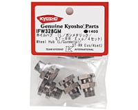 Image 2 for Kyosho 14mm Extended Wheel Hub Set (Gunmetal) (4)