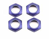 Kyosho Wheel Nut W/Nylon (Blue) (4) | relatedproducts