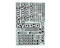 Kyosho Lazer ZX7 Decal Sheet