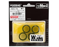 Image 2 for Kyosho 11mm Wide Tire Set (4) (30 Shore)
