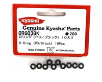 Image 2 for Kyosho P3 Black O-Rings (10)