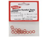 Image 2 for Kyosho P4.5 Silicone O-Ring (Orange) (15)