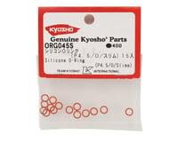Image 2 for Kyosho P4.5 Silicone Slim O-Ring (Orange) (15)