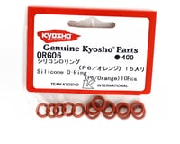 Image 2 for Kyosho P6 Orange Differential O-Rings (15)