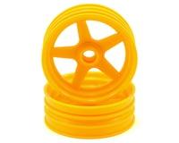 Kyosho Beetle 2014 5-Spoke Front Wheel (2) (Yellow)
