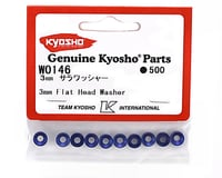 Image 2 for Kyosho 3mm Flat Head Washer