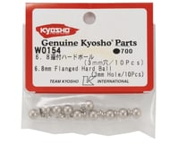 Image 2 for Kyosho 6.8mm Flanged Hard Ball (3mm Hole)