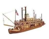 1 80 Mississippi Paddle Wheel Steam Boat Kit