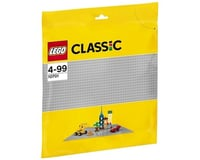 LEGO 10701 LEGO Classic Gray Baseplate 10701