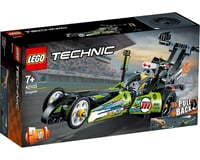 LEGO Technic Dragster 42103 Pull-Back Racing Toy (225 Pieces)