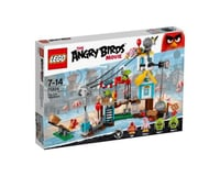 LEGO Angry Birds Pig City Teardown