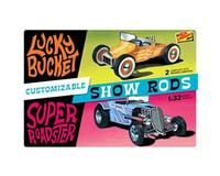 Lindberg Models Customizable Street Rod (2 pack)