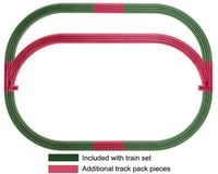 Lionel O-36 FasTrack Outer Passing Loop Track Pack