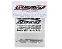 Image 2 for Lunsford 1/16 Traxxas Titanium Hinge Pin Kit (12)