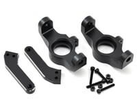 Losi Desert Buggy XL-E Aluminum Front Spindle Set (Black)