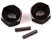 Losi Mini-T 2.0 Aluminum Rear Hex Set (Black)
