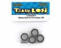 Image 2 for Losi Hard Anodized Wheel Nuts & Pins (4)
