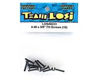"Image 2 for Losi 4-40x5/8"" Flat Head Screw (10)"