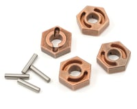 Losi TEN-SCBE Wheel Hex Set w/Pins (4)