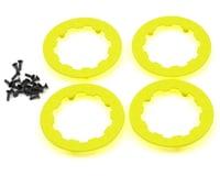 Image 1 for Losi Beadlock Ring Set w/Screws (Fluorescent Yellow) (4)