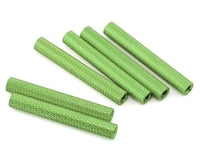Lumenier 35mm Aluminum Textured Spacers (6) (Green)