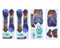 Lumenier QAV-Skitzo Dark Matter Sticker Set (Pelican)