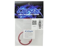 Image 2 for Lynx Heli Fireball Main Belt Pulley (Red)